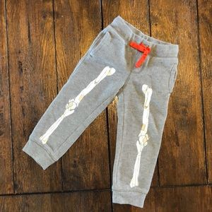 Gymboree Halloween Skeleton Joggers